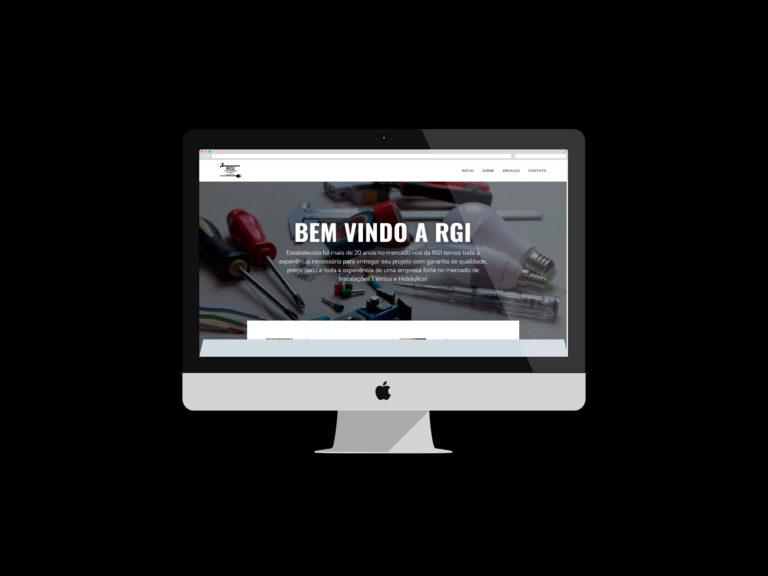 criação de sites - RGI INSTALAÇÕES