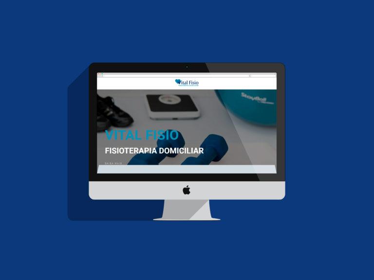 Criação de Sites - Vital Fisio