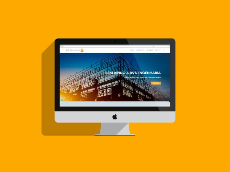 criação de sites - bvs engenharia