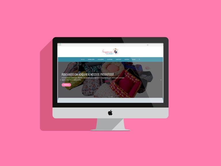criação de sites - emporium distripet