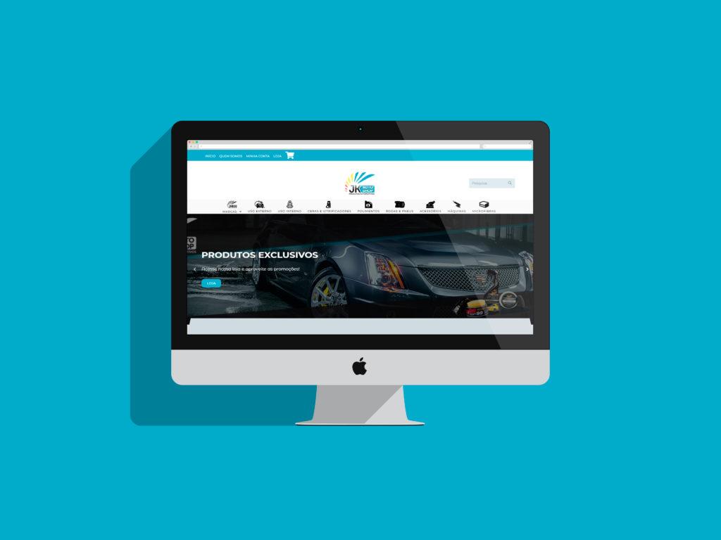 Criação de Sites - jk autoshop